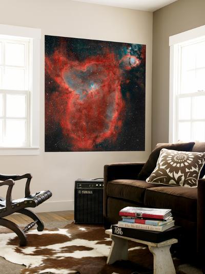 The Heart Nebula-Stocktrek Images-Wall Mural
