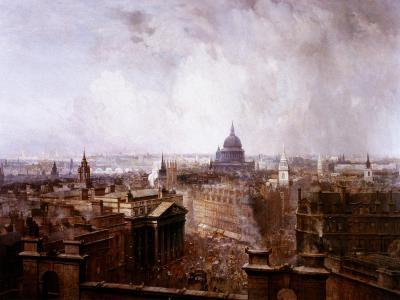 The Heart of the Empire, 1904-Niels Moeller Lund-Giclee Print