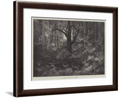 The Heart of the Forest-Charles Auguste Loye-Framed Giclee Print