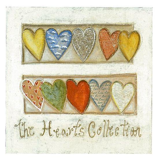 The Hearts Collection-Roberta Ricchini-Art Print