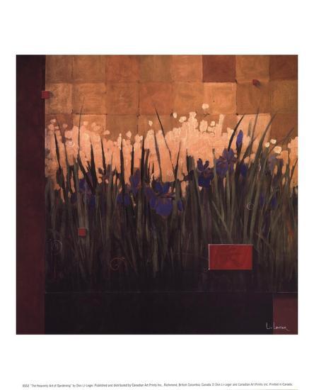 The Heavenly Art of Gardening-Don Li-Leger-Art Print