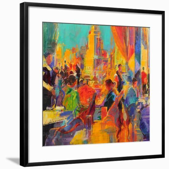 The Helmsley Park Lane, New York-Peter Graham-Framed Giclee Print