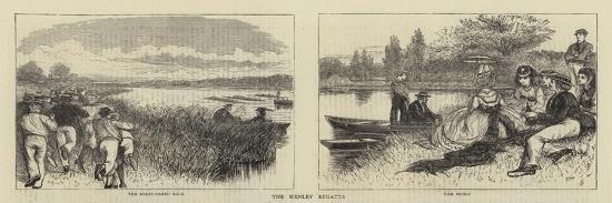 The Henley Regatta-Francis S. Walker-Giclee Print