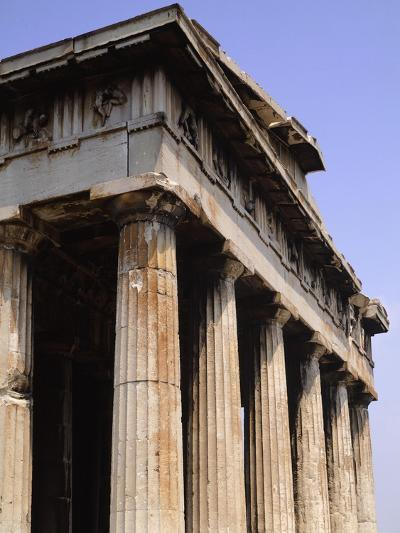 The Hephaestus Temple in Athens--Giclee Print