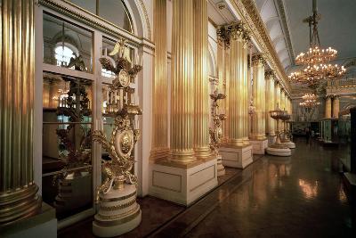 The Heraldic Hall in the Winter Palace, 1839-Vasily Stasov-Photographic Print