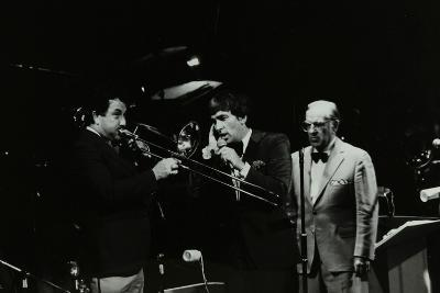 The Herb Miller Orchestra in Concert at the Forum Theatre, Hatfield, Hertfordshire, 1985-Denis Williams-Photographic Print