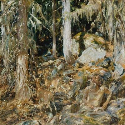 The Hermit (Il solitario), 1908-John Singer Sargent-Giclee Print