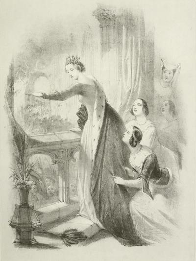 The Heroine of the Savoy-Joseph Nash-Giclee Print