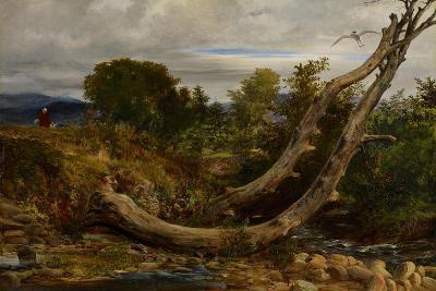 The Heron Disturbed, C.1850-Richard Redgrave-Giclee Print