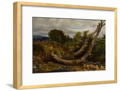 The Heron Disturbed, C.1850-Richard Redgrave-Framed Giclee Print