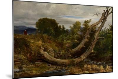 The Heron Disturbed, C.1850-Richard Redgrave-Mounted Giclee Print