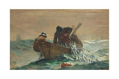 The Herring Net, 1885-Winslow Homer-Giclee Print