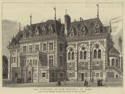 The Hertford British Hospital at Paris--Giclee Print
