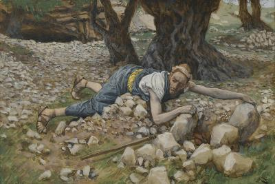 The Hidden Treasure from 'The Life of Our Lord Jesus Christ'-James Jacques Joseph Tissot-Giclee Print