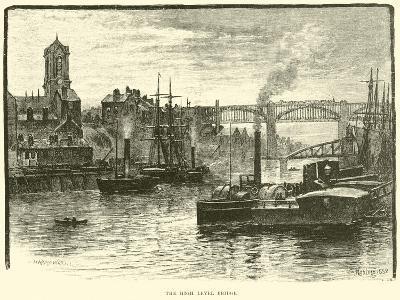 The High Level Bridge--Giclee Print