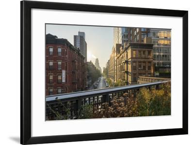 The High Line Park, Manhattan, New York-Rainer Mirau-Framed Photographic Print