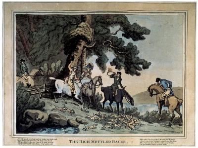 The High Mettled Racer, 1789-Thomas Rowlandson-Giclee Print