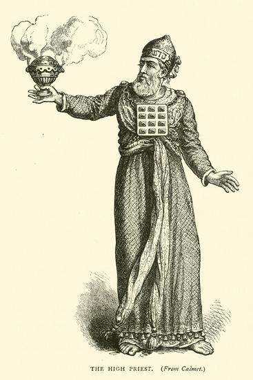 The High Priest--Giclee Print