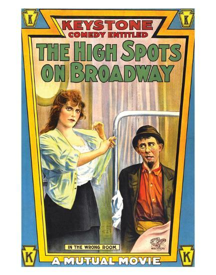 The High Spots On Broadway - 1914--Giclee Print