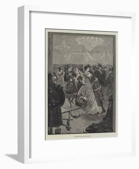 The Highland Ball at Willis's Rooms-Henry Stephen Ludlow-Framed Giclee Print
