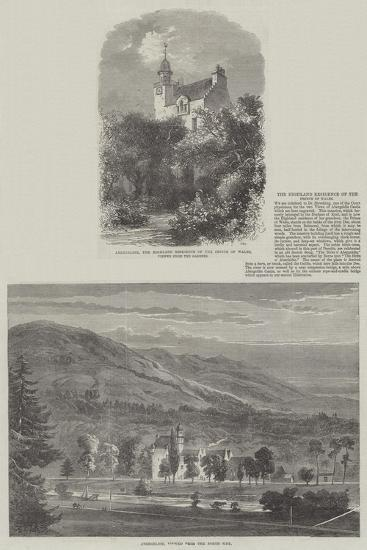 The Highland Residence of the Prince of Wales--Giclee Print