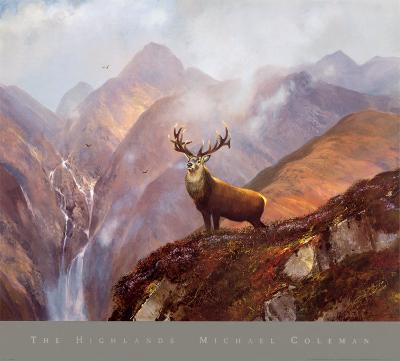 The Highlands-Michael Coleman-Art Print