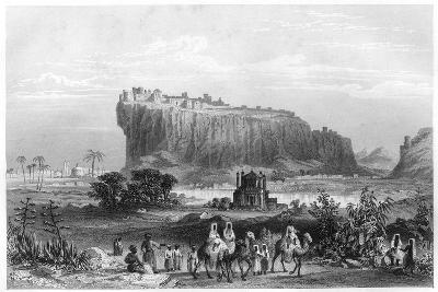 The Hill Fortress of Gwalior, India, C1860--Giclee Print