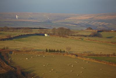 The Hills of Challacombe Common in Early Winter, Near Blackmoor Gate, Exmoor National Park-Nigel Hicks-Photographic Print