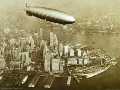 The Hindenburg Airship,1936