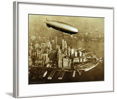 The Hindenburg Airship, 1936