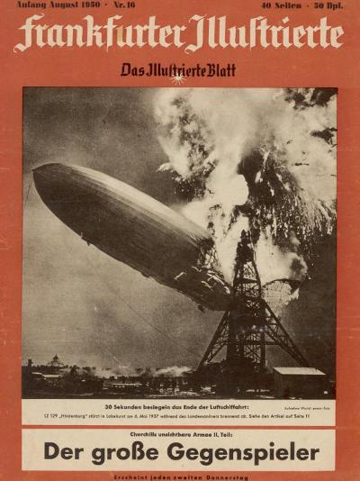 The Hindenburg Disaster--Photographic Print