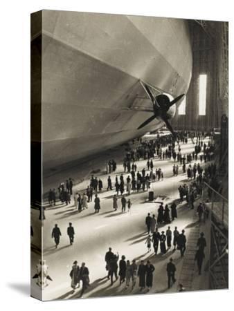 The Hindenburg Zeppelin - 1936 Olympics