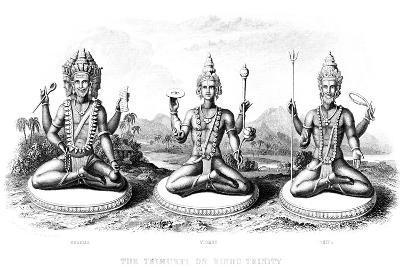 The Hindu Trinity, C1800--Giclee Print