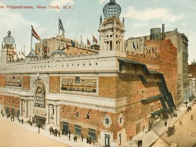 The Hippodrome, New York--Photographic Print