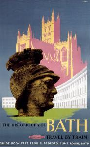 The Historic City of Bath, BR (WR), c.1958