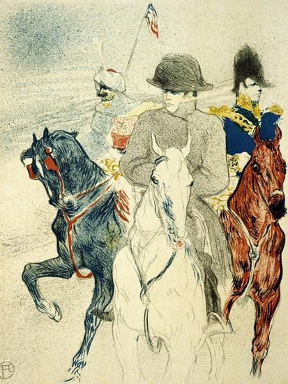 The History of Napoleon I' (Rejected Design of a Poster to the Boo), 1895-Henri de Toulouse-Lautrec-Giclee Print