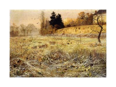 The Hoar Frost, c.1900-Fritz Thaulow-Giclee Print