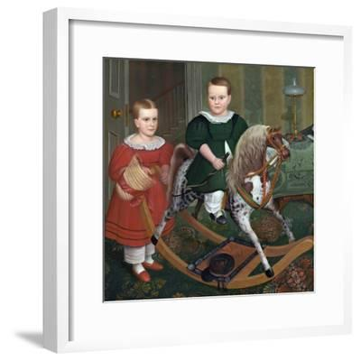 "/""The Hobby Horse/"" — Giclee Fine Art Print c1840 Robert Peckham"