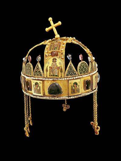 The Holy Crown of Hungary, 11th-12th Century-Byzantine-Giclee Print