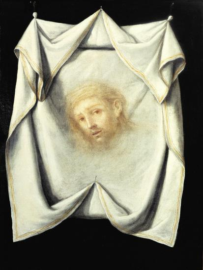 The Holy Face-Francisco de Zurbar?n-Giclee Print