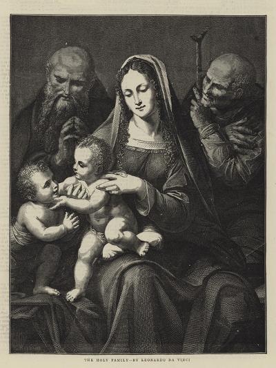 The Holy Family, by Leonardo Da Vinci-Charles Maurand-Giclee Print