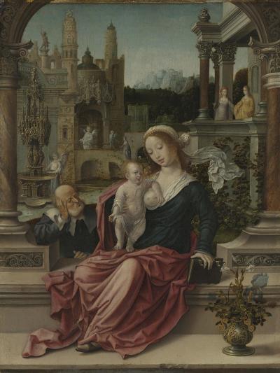 The Holy Family, c.1507-8-Jan Gossaert-Giclee Print