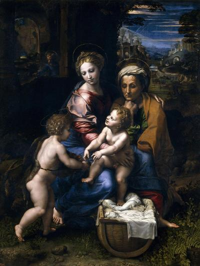 The Holy Family, Or the Pearl, 1519-1520, Italian School--Giclee Print