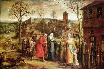 The Holy Family Turned Away from the Inn, 16th Century-Jan Seydlitz-Giclee Print