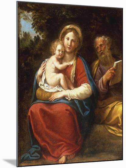 The Holy Family-Francesco Albani-Mounted Giclee Print