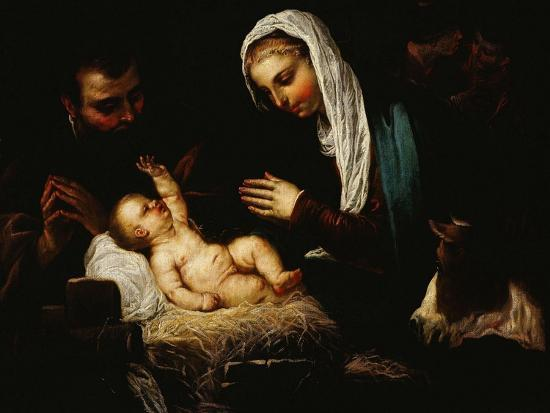 The Holy Family-Jacopo Robusti Tintoretto-Giclee Print