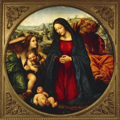 The Holy Family-Giovanni Antonio Bazzi-Giclee Print