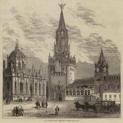 The Holy Gate, Moscow--Giclee Print