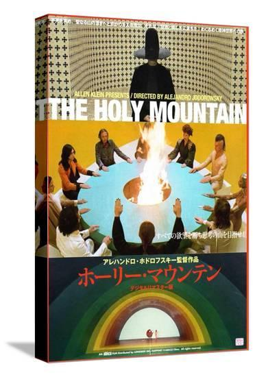 The Holy Mountain--Stretched Canvas Print