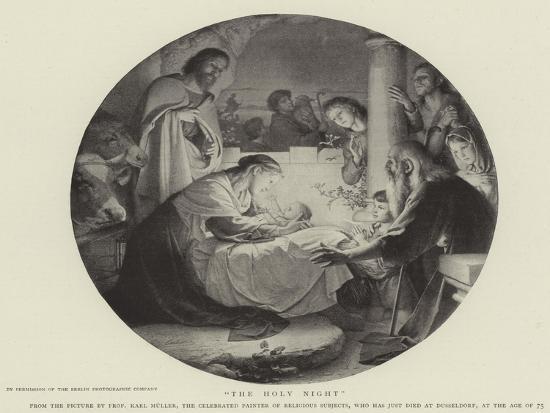 The Holy Night--Giclee Print